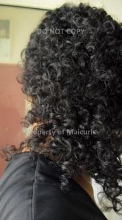 Bantu-Knotout Back view