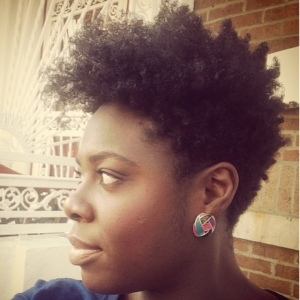 Jenell Stewart Tapered Cut Wash N Go