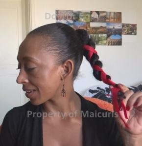 Twist with Ribbon