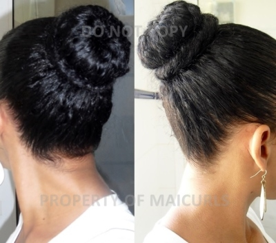 Twist and Tuck Donut Bun