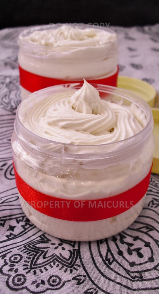 DIY Whipped Butter for Hair & Body (Cocoa, Shea and Mango Butter)