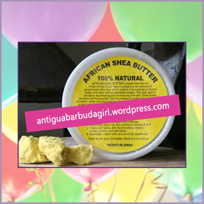 Raw shea butter from Antiguabarbuda Girl