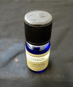 I use 7 drops Peppermint Essential Oil