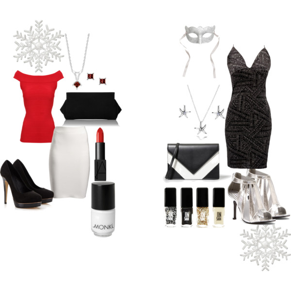 Christmas & New Years Eve Outfits - http://maicurlz.polyvore.com/