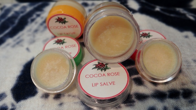 DIY Cocoa Rose Lip Salve