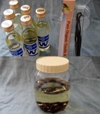 vanilla infused almond oil