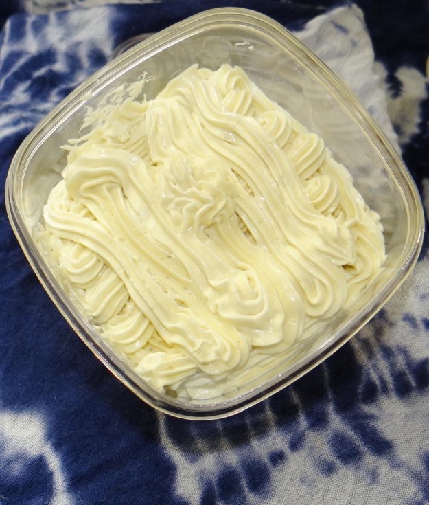 Whipped Shea Butter (for skin and hair)