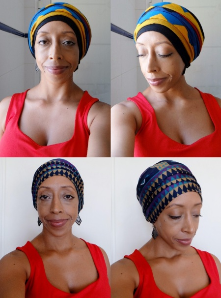 2 head wrap styles for winter