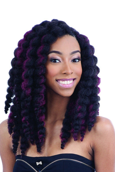 Crochet Braiding Bouncy Twist Out: Source - Tisun Beauty