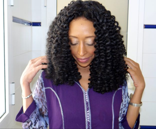 Freetress Crochet Braiding Hair - Bouncy Twist out turned Flexi Rod Curls