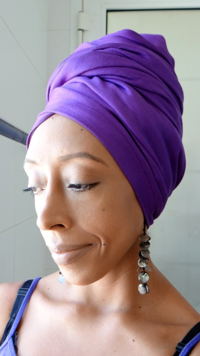 Faux huge Headwrap